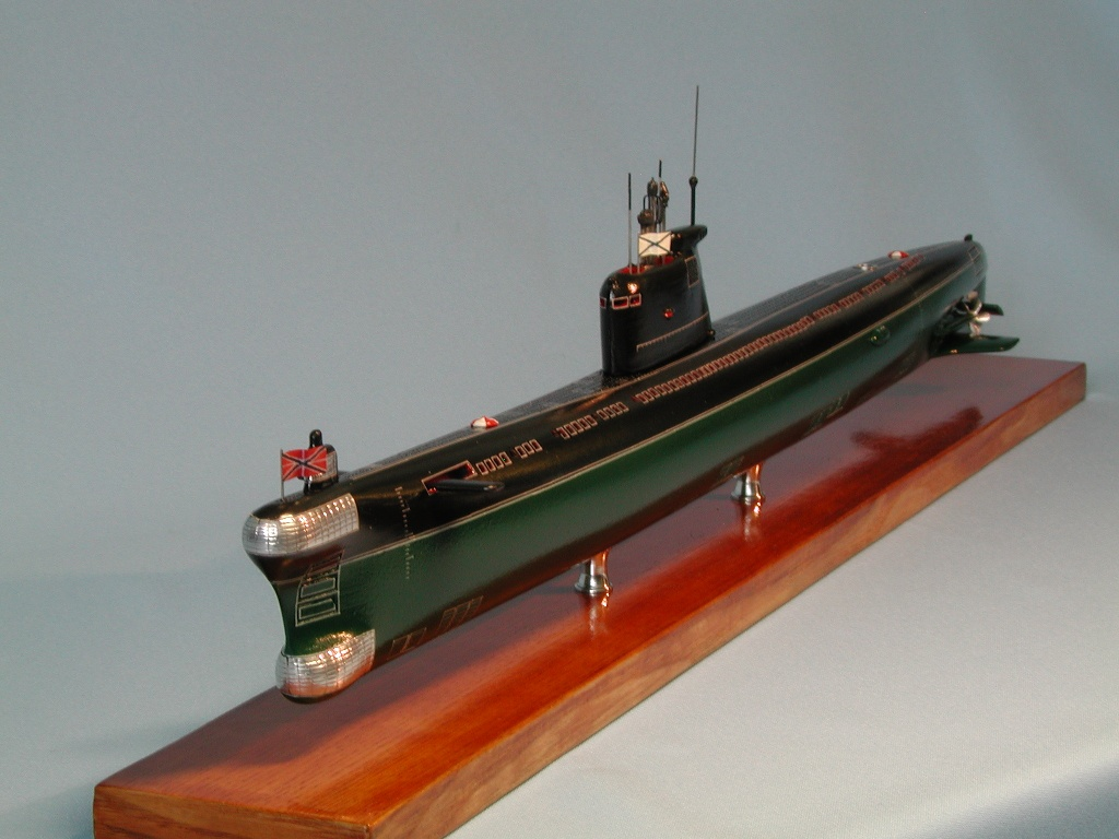 как собирать модель подводной лодки